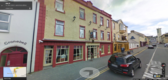 Atlantic Hotel on Google Street View