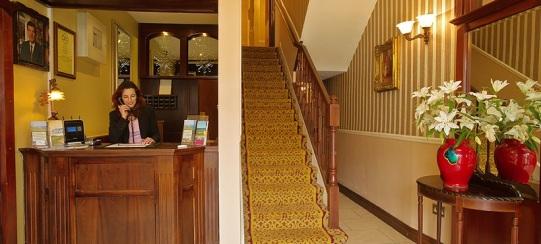 Atlantic Hotel reception