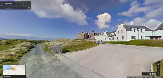 Doonbeg Lodge in Google Street View 1