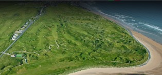 Lahinch aerial view