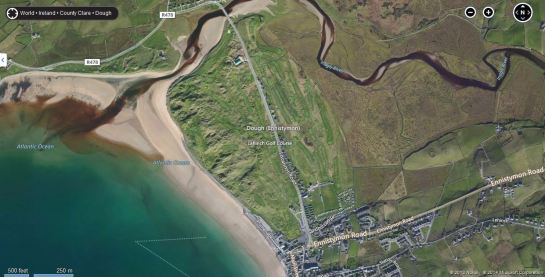Lahinch Golf Club in Bing Maps