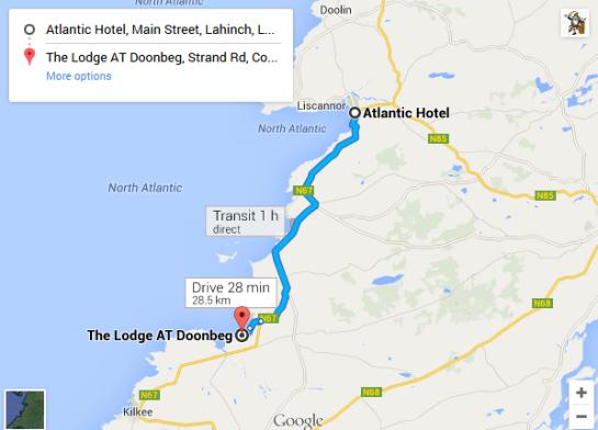 Trip - Atlantic Hotel Lahinch to Doonbeg
