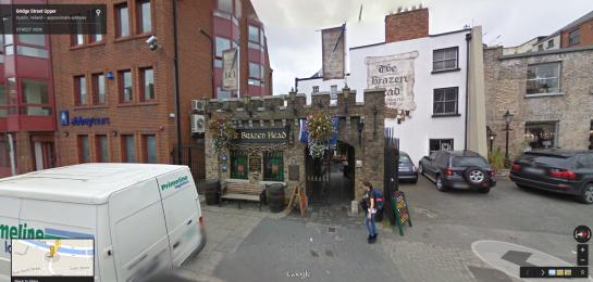 Brazen Head in Google Street