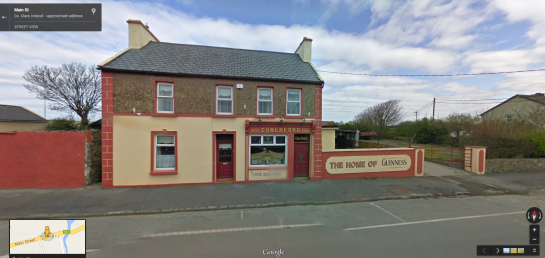 comerford pub in Google Street View