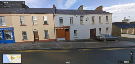 Frawley's in Google Street View