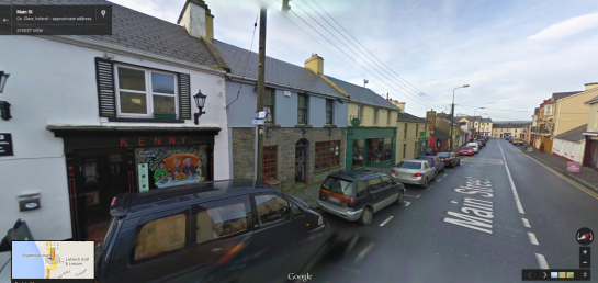 Kenny's in Google Street View