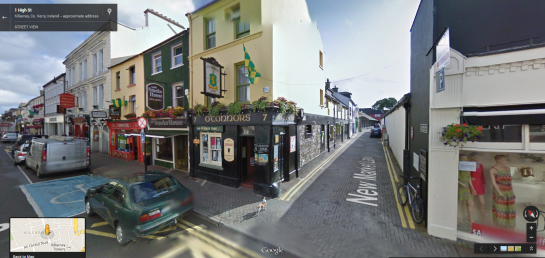 oconnors in Google Street View