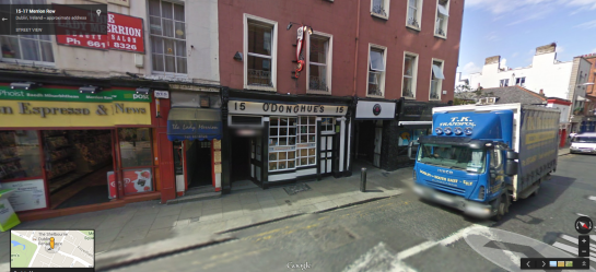 O'Donoghues in Google Street View