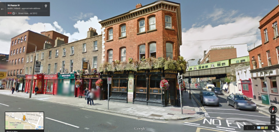 O'Neills in Google Street View