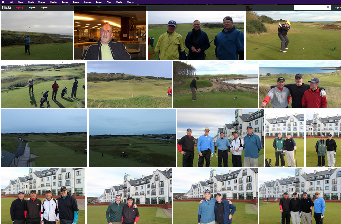 ScotlandGolfTour2011 Team