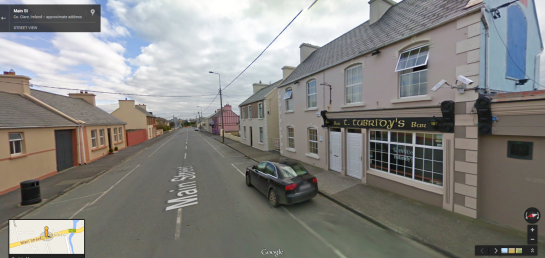 Tubridy's in Google Street View