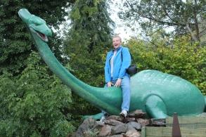 Andrew rides Nessie