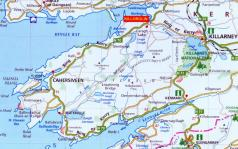Ring of Kerry map