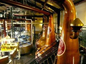 Bushmills distillery stills
