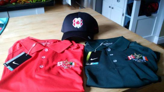 IrelandGolfTour2015 shirts and hats
