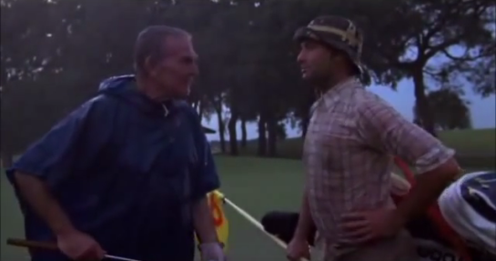 Bishop scene from Caddyshack