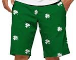 Loudmouth shorts - shamrock - cropped