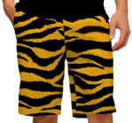 Loudmouth shorts - tiger stripe - cropped