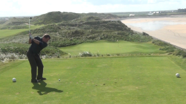 Jamie - Doonbeg 14th tee