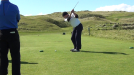 Sean - Lahinch 5th tee